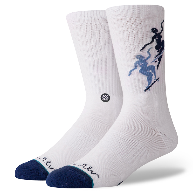 Stance X Polar Pontus Socks White