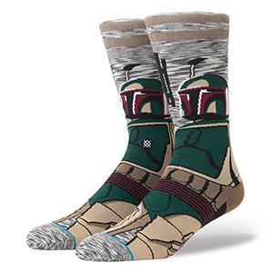 Stance X Star Wars Bounty Hunter Socks Hunter Grey