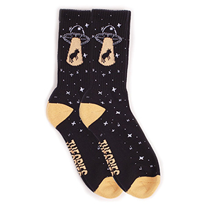 Theories Abduction Socks Navy
