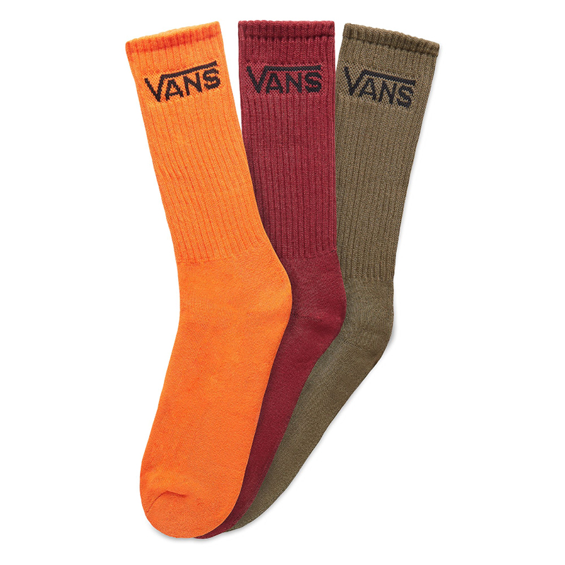 Vans Classic Crew Socks Flame