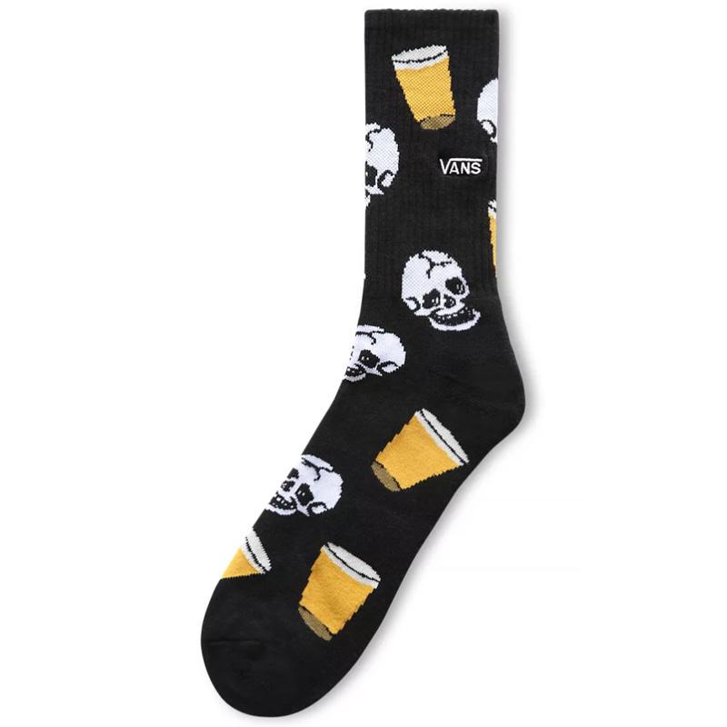 Vans Dive Bar Crew Socks Black
