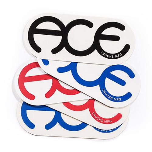 Ace Rings Logo Sticker 6 Inch