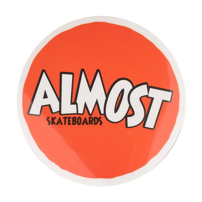 Almost Hanna Barbera Throwback Sticker Logo