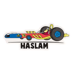 Almost Hanna Barbera Throwback Sticker Wacky Races 1