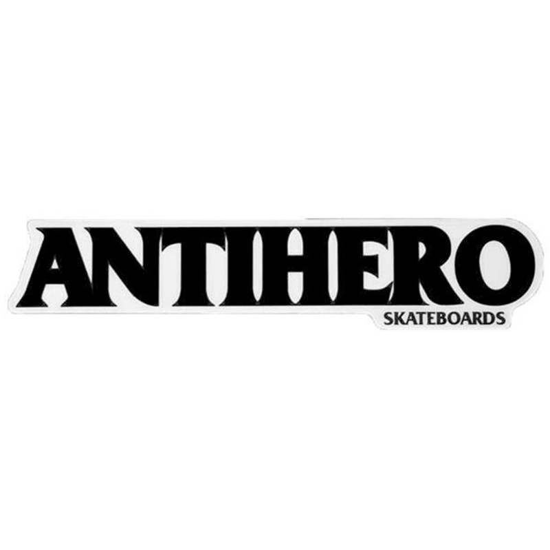 Anti Hero Long Black Hero Sticker Medium