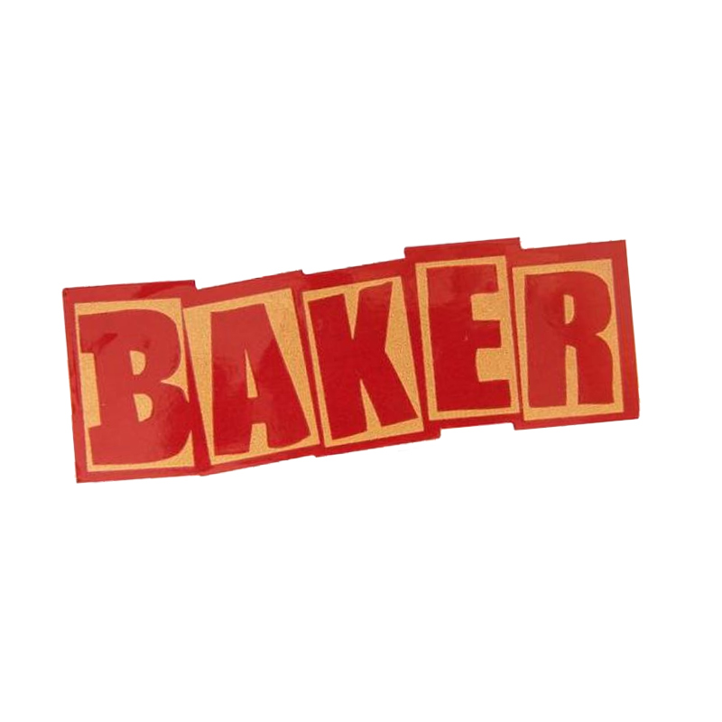 Baker Brand Logo HO20 Sticker Assorted
