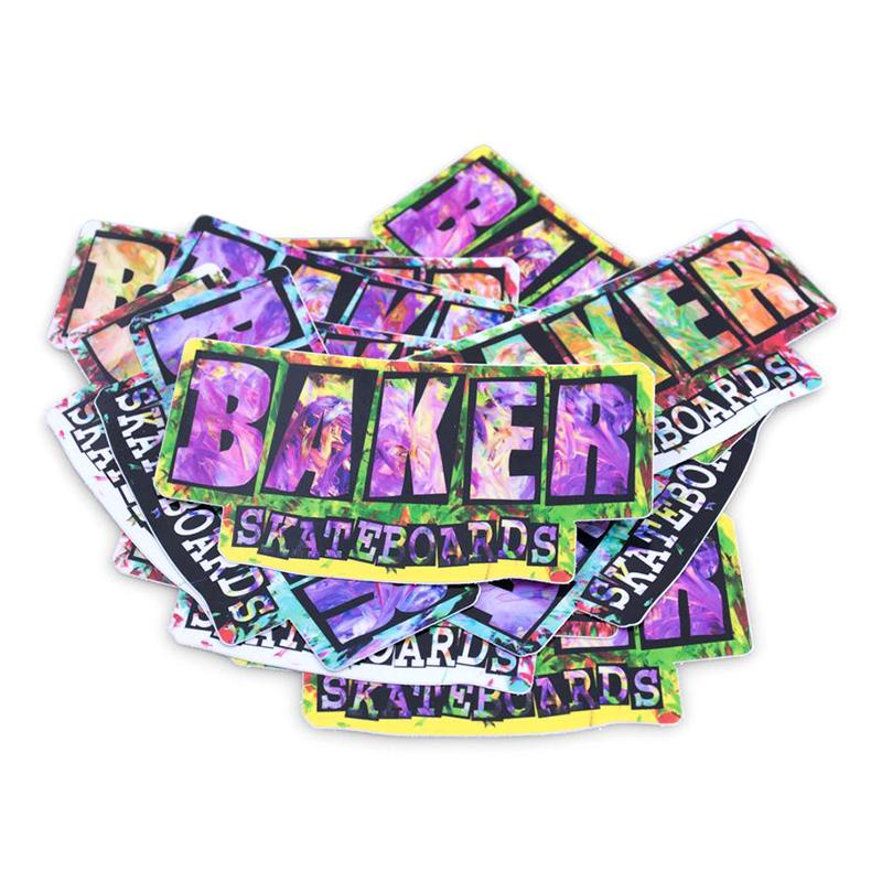 Baker Finger Painting Sticker