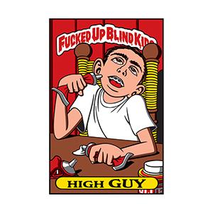 Blind High Guy Sticker