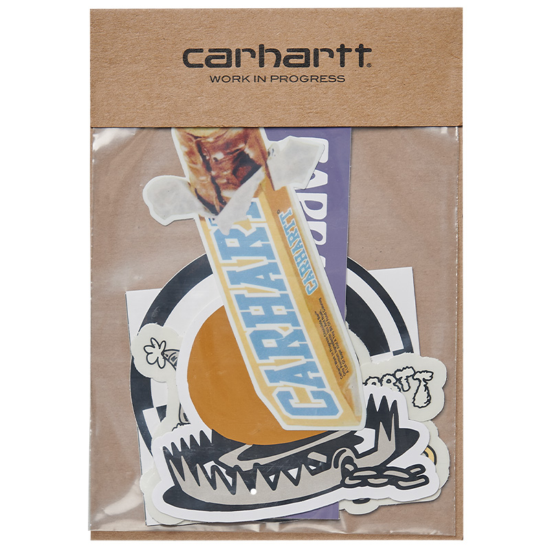 Carhartt WIP Sticker Bag 10 Pack Multicolor