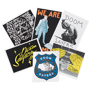 Doom Sayers Sticker