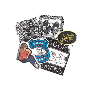 Doom Sayers Sticker Assorted -1 sticker-