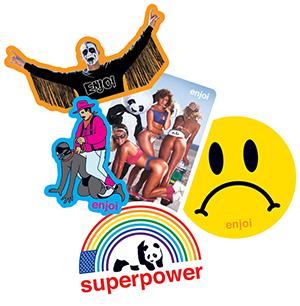 Enjoi Summer Sticker Assorted -1 sticker-