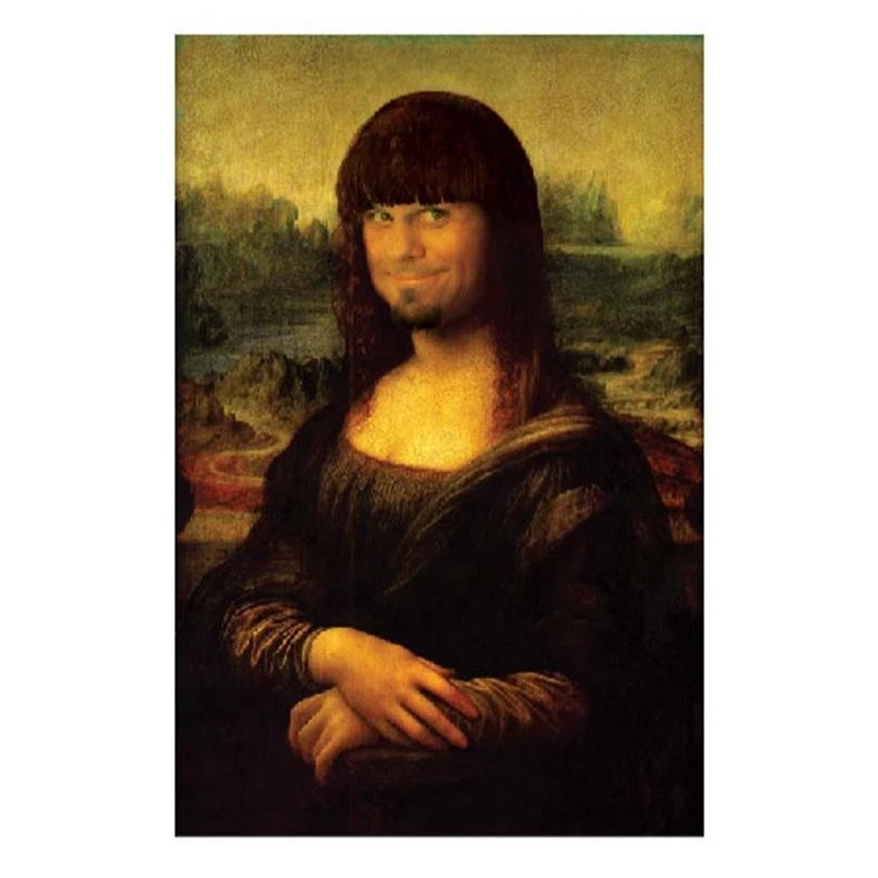 Enjoi Mona Louie Sticker Multi