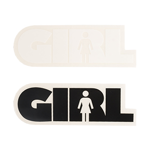 Girl Bar Logo Sticker M Assorted Sticker -1 sticker-