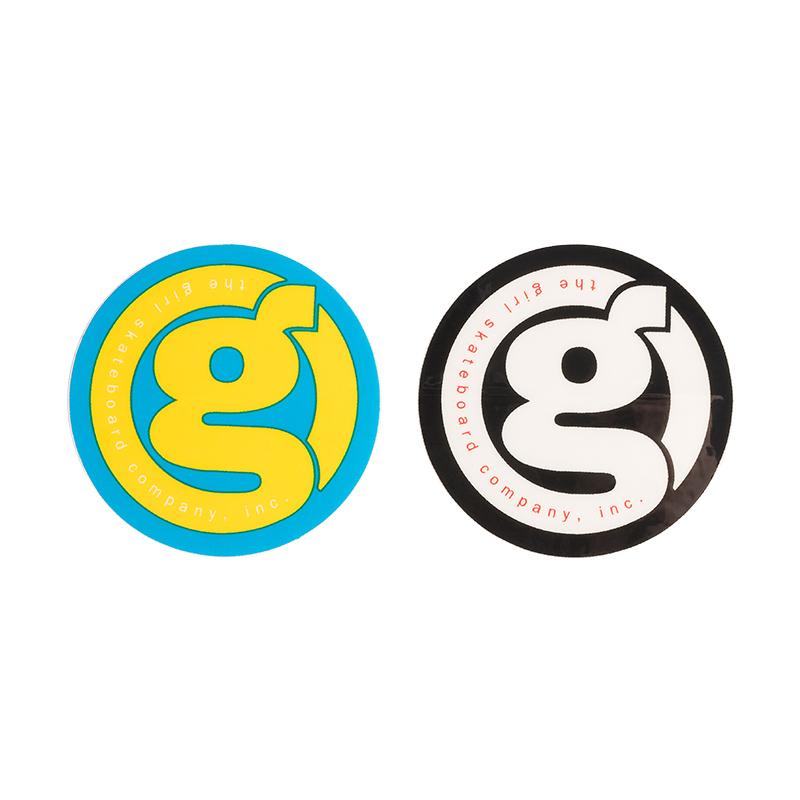 Girl G Logo Round Sticker M Assorted Sticker -1 sticker-