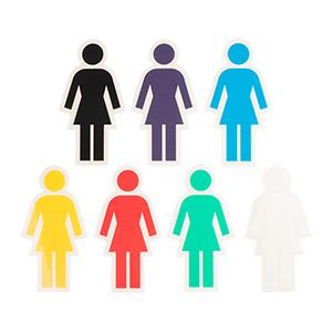Girl OG Cutout Sticker M Assorted Sticker -1 sticker-
