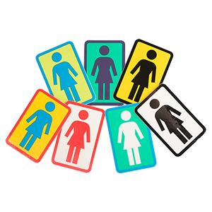 Girl OG Logo Sticker M Assorted Sticker -1 sticker-