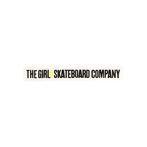 Girl Skateboard Company Bar Sticker S