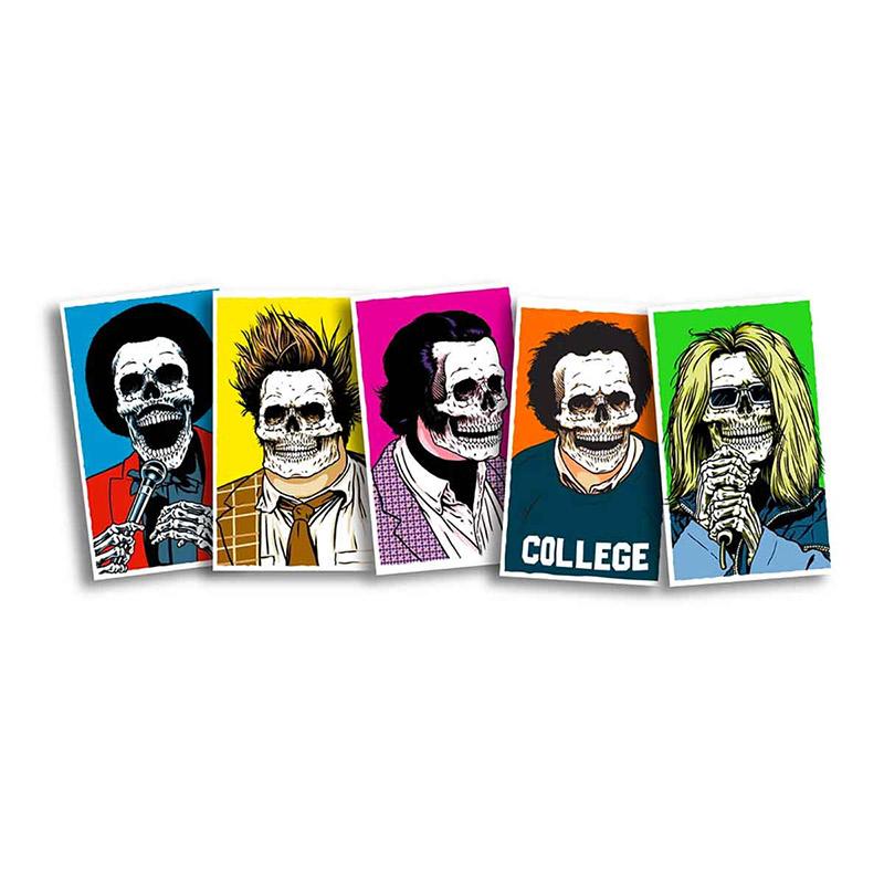 Girl Skull Of Fame Sticker Pack