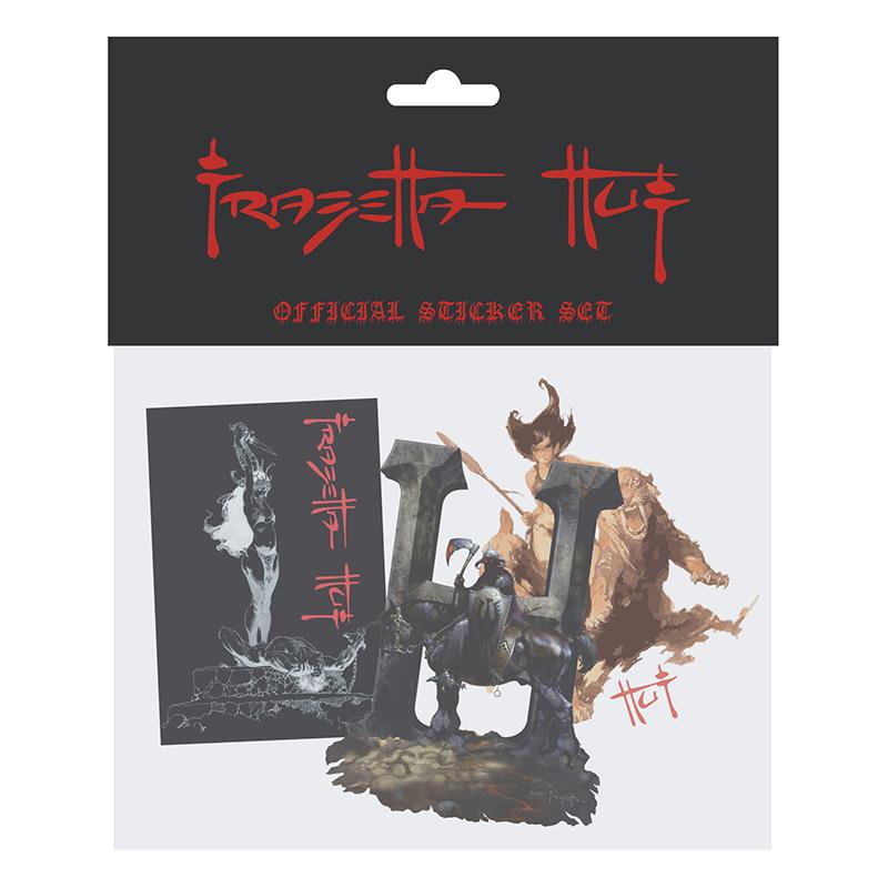 HUF Frazetta Sticker Pack Assorted