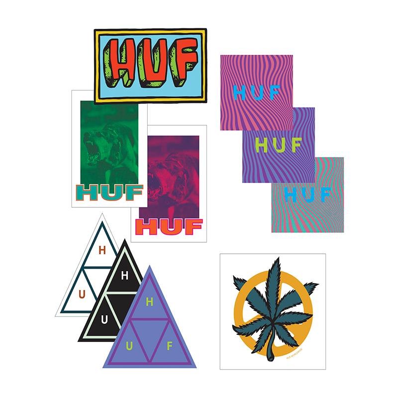 HUF Seasonal Sticker Pack