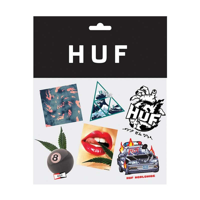 HUF Sticker Pack Multi