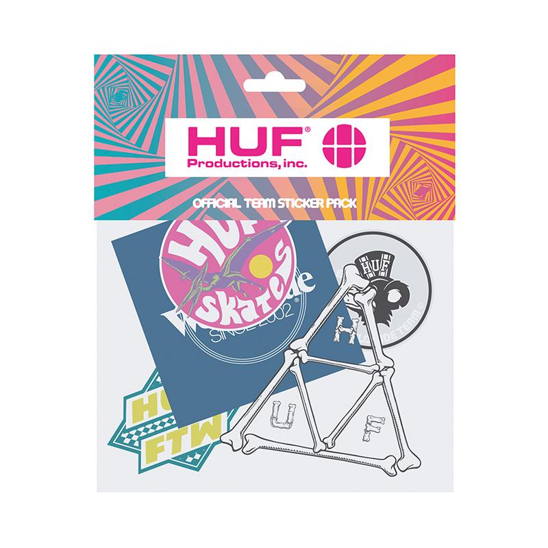 HUF Team Sticker Pack