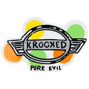 Krooked Pure Evil Sticker Medium