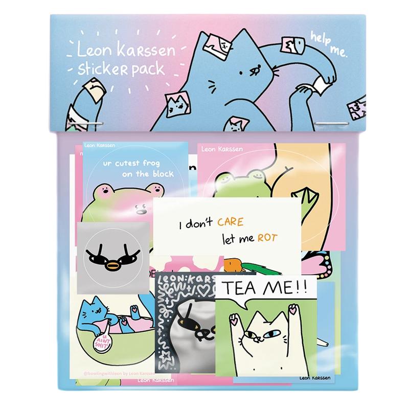 Leon Karssen Big Stickerpack