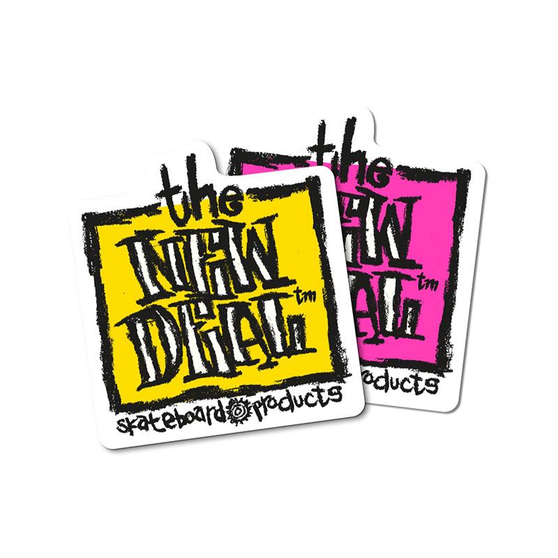 New Deal Original Napkin Stickers