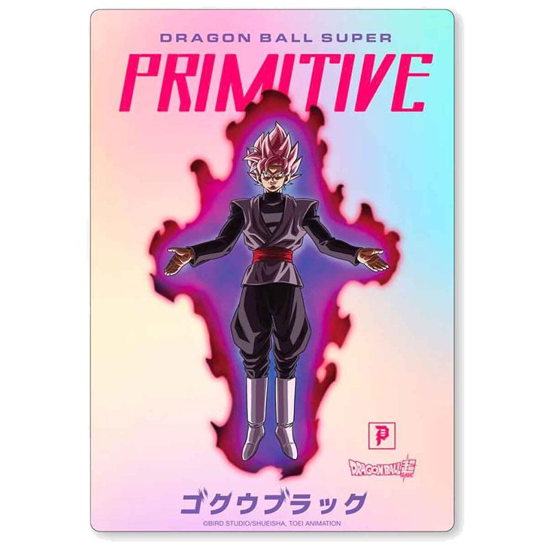 Primitive X Goku Black Hologram Sticker Hologram