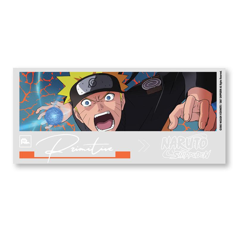 Primitive X Naruto Combat Sticker