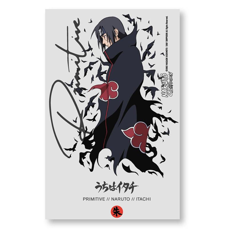 Primitive X Naruto Crows Sticker