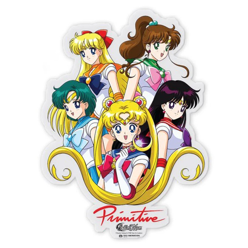 Primitive x Sailor Moon Inner Senshi Sticker Multi