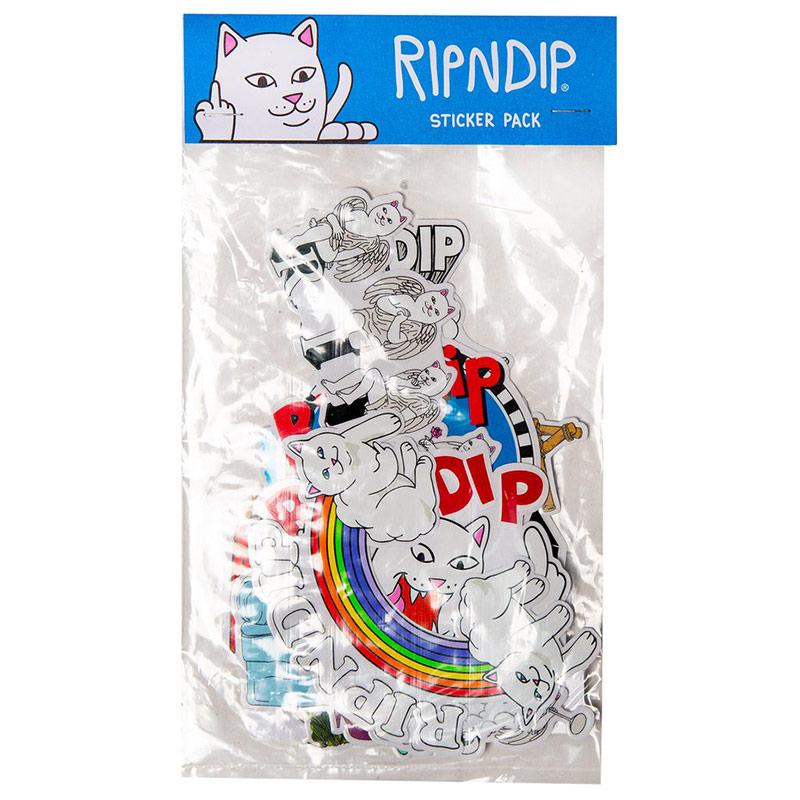RIPNDIP Fall 19 Sticker Pack Multi