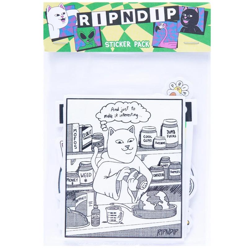RIPNDIP Sid Sticker Pack