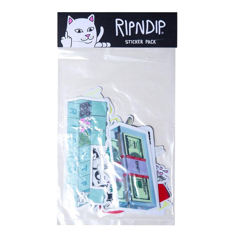 RIPNDIP Summer 19 Sticker Pack Multi