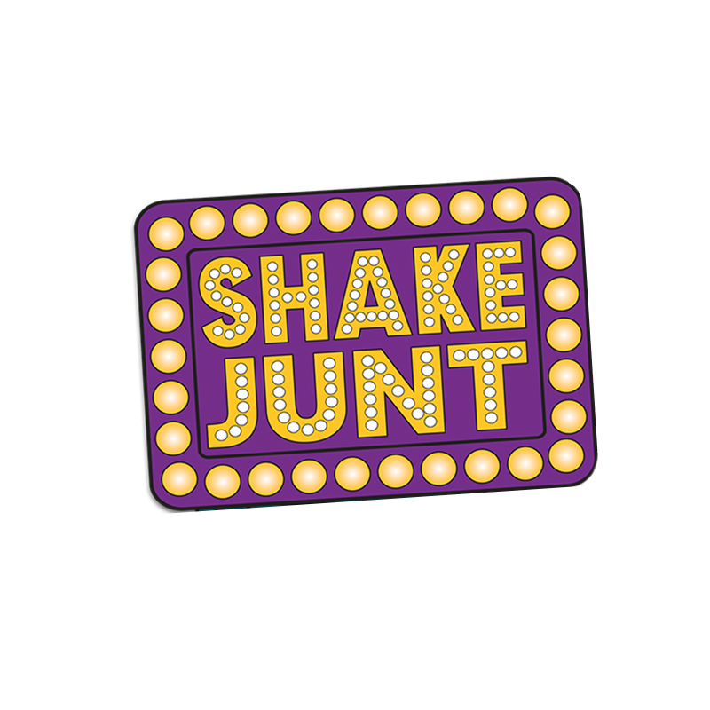 Shake Junt Box Logo Multi Sticker Assorted