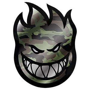 Spitfire Covert Bighead Camo Sticker