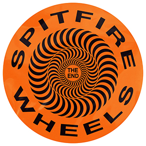 Spitfire Covert Classic Orange Sticker