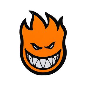 Spitfire Fireball Sticker Orange M