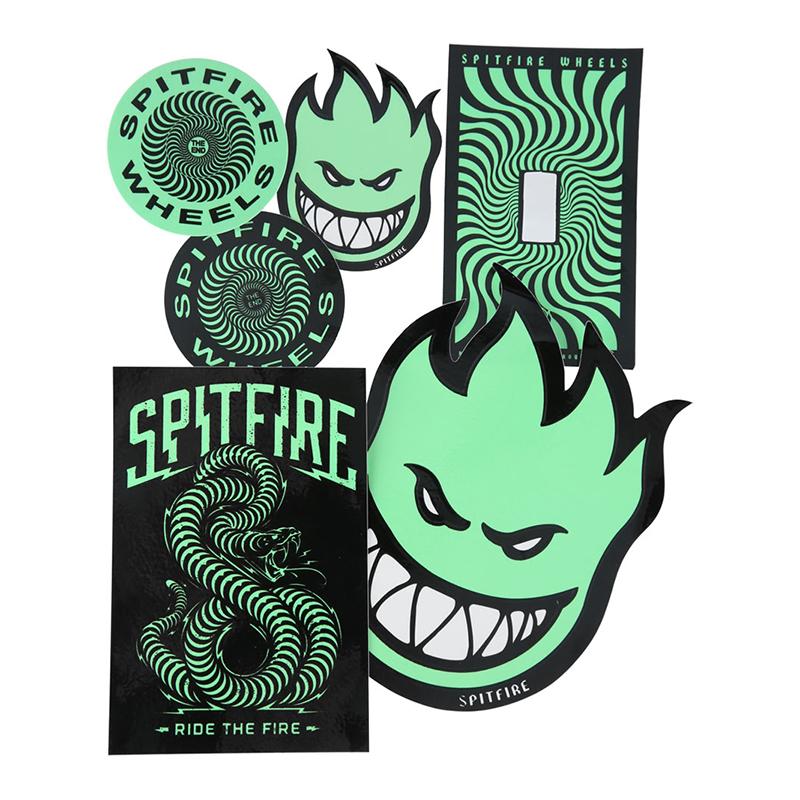 Spitfire Stay Lit Glow Sticker Pack