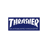 Thrasher Skate Mag Sticker Medium Blue