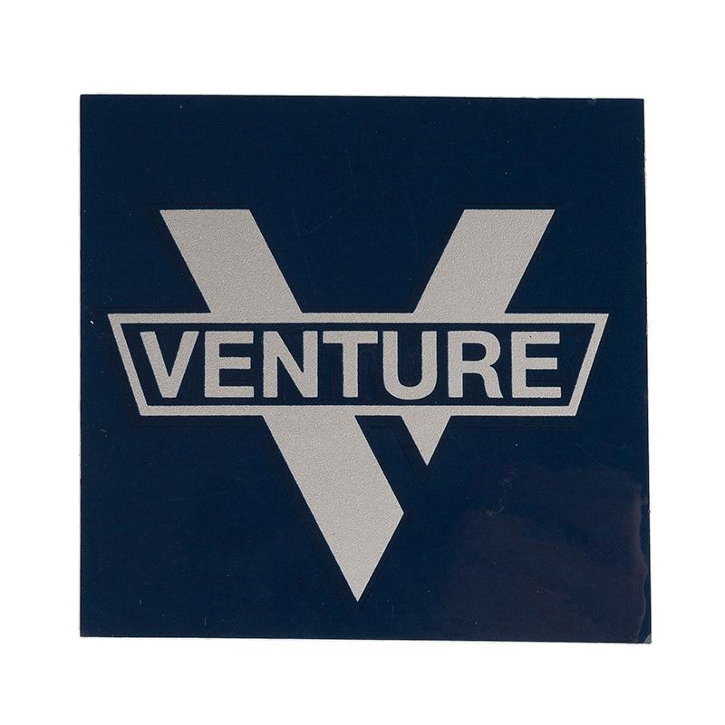 Venture Bar Logo Small Sticker Navy/Silver