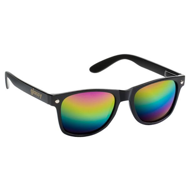 Glassy Sunhaters Leonard Sunglasses Black Color