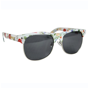 Glassy Sunhaters Shredder Sunglasses White/Floral