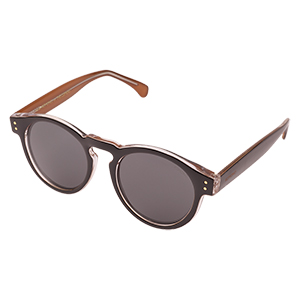 Komono Clement Sunglasses Black Apricot