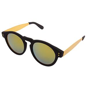 Komono Clement Sunglasses Metal Black/Gold