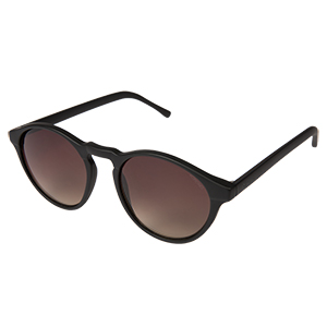 Komono Devon Sunglasses Black Rubber