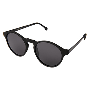 Komono Devon Sunglasses Metal Black